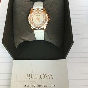 Bulova 98P119 Ladies Watch